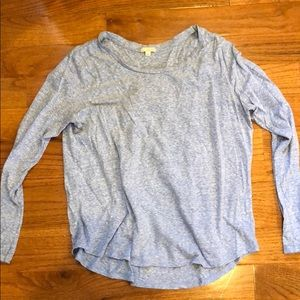 Gap Blue Long-Sleeve Tee